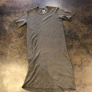 Rick Owens Dresses - Rick Owens dark dust cashmere silk dress S unisex